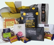 Gift Basket of Assorted Sweet Treats and Snacks. Free Delivery North Shore Auckland Wide.