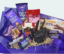 Chocolate Gift Basket Free Delivery North Shore Auckland