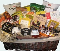 Deluxe Luxury Gift Basket Treats and Snacks. Free Delivery North Shore Auckland Wide.