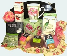 Tea Gift Box Hamper With Treats Free Delivery North Shore Auckland