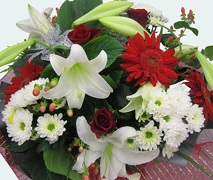 Christmas bouquet free Auckland delivery