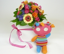 Newborn Baby Gift Basket for Baby Girl. Free Delivery North Shore Maternity Hospital Auckland